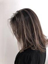 ヘアーアンドメイク ブロッサム 志木南口店(HAIR&MAKE Blossom)アッシュグレージュ《バレイヤージュカラー》