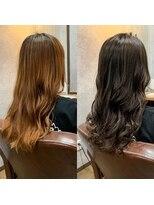 セブン ヘア ワークス(Seven Hair Works)「劇的変化」大人カラー