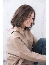 ニュートラルプロデュースドバイガーデン(NEUTRAL produced by GARDEN)【NEUTRAL太田愛】ジェンダーレスボブ セミウェットラベンダー