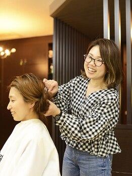 デフ ヘアー ブランド Def Hair BRANDの写真/【お客様の満足度を大切に】髪質・骨格・顔のパーツをしっかり見極め、あなたの魅力を引き出すスタイルに♪