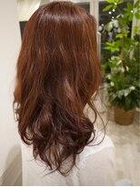 ヘアー カラー キー(HAIR color KEY)ロング『低温デジタルパーマ』