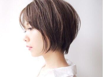 """モリオ フロムロンドン さいたま新都心店(morio from London)の写真/クセ/細さ/毛量など。一人ひとりの持つ髪の個性をしっかり見極めた理想の""""ショートヘア""""が実現♪"""