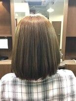 ヘアーメイク プリュム(Hair make Plume)ボブ×明るめマット