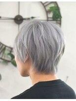 ヘアーサロン エール 原宿(hair salon ailes)(ailes 原宿)style390 ホワイトグレー☆テクノ