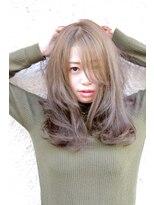 ヘアーサロン エール 原宿(hair salon ailes)(ailes原宿)style233 ワンサイド☆ハーフバングブルーマット
