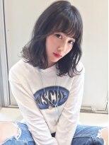 アクシス 栄ガスビル店(`AXIS)AXIS【naya's style】オルチャンシースルーバングキンタンバル
