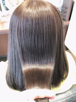 ツツミ TSUTSUMI 美容室の写真/【TOKIOインカラミ取扱い】髪質改善◆髪に必要な栄養分を補い、驚異の毛髪回復率で期待以上の仕上がりに。