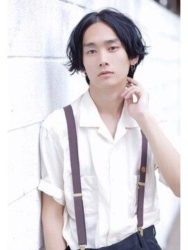 ヘアアンドメイク エジェリ(hair&make egerie)【メンズ】ネープレスショートボブ