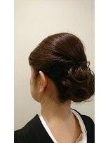 ファルコヘア 立川店(FALCO hair)お着物のアップスタイル