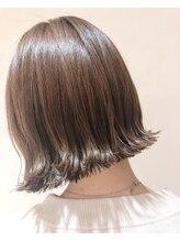 ラボヌール ヘアー エクラ(La Bonheur hair eclat)大人可愛いパツっとボブ☆