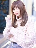 アンド ストーリーズ 表参道(&STORIES)25歳からの【毛先パーマ /黒髪/ことりベージュ】♪