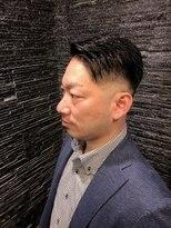 プレミアムバーバー 原宿店(PREMIUM BARBER produce by HIRO GINZA)ビジネススタイル×スキンフェード