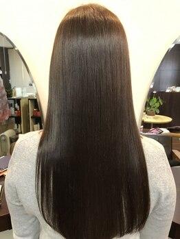 サロン ド ボーテ タカハシの写真/【髪質改善縮毛矯正】丁寧なカウンセリングからお客様の髪質やダメージレベルに合わせた施術を提案します☆