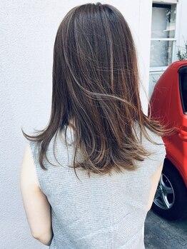 ハコ(haco)の写真/【髪質改善カラー】5種類から選べるhacoならではのcolorでダメージレス&なりたい色味も自由自在♪