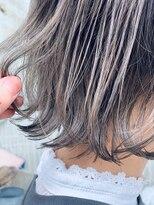 クラシコ ヘアー(CLASSICO hair)ハイトーンミルクティー×ワンレンボブ