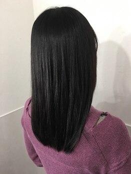 """パタパタ(PataPata)の写真/8種類の薬剤をアナタの髪質・ダメージに合わせて独自調合★口コミで大人気の""""理想が叶う""""縮毛ストレート♪"""
