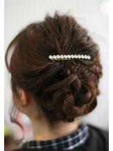 ヘアーサロン ドアーズ(hair salon DOORS)《DOORS》ブライダルゲストのヘアアレンジスタイル
