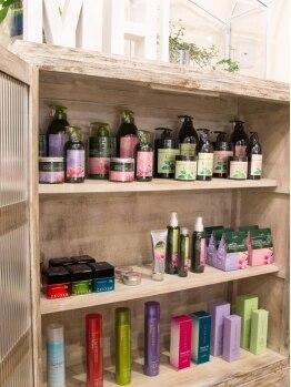 ミュークヘア(Mjuk Hair)の写真/<松阪>オーガニック商品を使用!!お肌が敏感な方や少し弱い方も、自分の色を見つける事が出来ますよ☆
