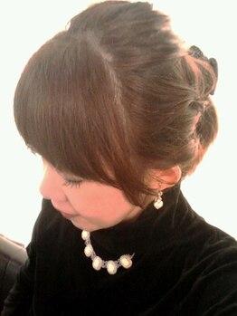 ヘアーフェイヴァリット(Hair Favorite)の写真/大人の女性のための落ち着いた雰囲気のプライベートサロン。信頼出来る女性スタイリストが担当します!!