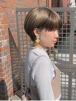 カイル (KAIL)大人かわいい丸みショート☆ マニッシュショート 前髪あり