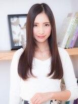 オーブ ヘアー ニア 御茶ノ水店(AUBE HAIR nia)触りたくなる♪艶ストレート
