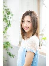 アーサス 国分寺店 (Ursus hair Design)ストレートツヤ小顔ミディ