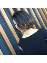レザボア ヘアーアンドビューティー ハイブ店(reservoir Hair&Beauty Haibe)ゆるふわボブ