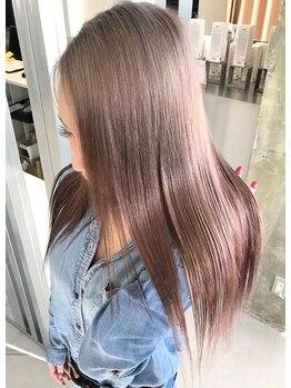 キング ヘアーアンドアイラッシュ(K!ng hair&eyelash)の写真/最高級ケア☆tokioインカラミトリートメント取扱店☆髪の深層内部からしっかり美容成分を補給し、ツヤ髪に