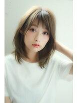 20代30代40代50代ok!小顔ひし形ミディ Lino by U-REALM