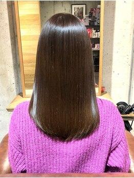 ソーラス (Solus)の写真/【TVで話題!】ミネコラ認定サロン☆高濃度水素で髪の水分量を高めることで自分史上一番の艶髪、美髪に!