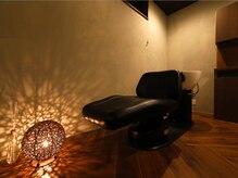 カノエ 山口店(canoe)の雰囲気(照明を落としたスパルームでのヘッドスパが人気。極上の癒しを…)