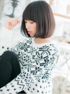 モッズヘア 上尾西口店(mod's hair)黒髪ボブの大人クラシカルa