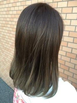 ヘアーメイク カリユ(HAIR MAKE kariyu)の写真/髪質改善に効果的♪魔法のリセッターカットでお手入れしやすい上品なオシャレヘアを…。髪のストレスを解消