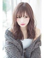 【invitation】春オススメゆるふわロングで小顔ヘア@マイコ