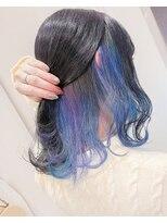 アマンドール(AMAN D'OR)4色で繊細な青系.紫系★『インナーユニコーン』