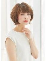 アワヘアー 表参道(awa hair)【デジキュアで作る 】大人マッシュ丸みショートレイヤー☆