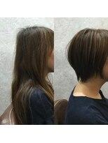 セブン ヘア ワークス(Seven Hair Works)[カラーベーシック]手入れが簡単ショートスタイル