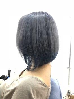 アイボリーヘアワークスアンドエステティック(Ivory Hair works Esthetic)の写真/《石井町》Ivoryのハイレベルな技術にかかれば、スタイリングが苦手な方でも簡単こなれヘアが叶う♪