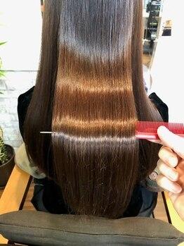 サロン ド ボーテ タカハシの写真/口コミでも高評価☆美しい髪を取り戻す美髪チャージトリートメント《髪質改善モイスチャートリートメント》
