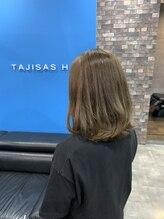 タジサスヘアー(TAJISAS HAIR)ミディアムヘアー