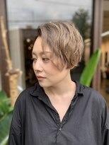 コレット ヘアー 大通(Colette hair)えっ!?それ癖!?めっちゃいいじゃんショート。
