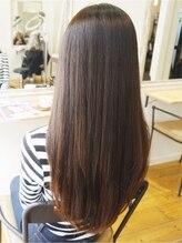 髪型にこだわるからこそ、髪質にもこだわりを…