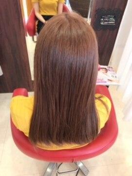 ヘアーメイク カリユ(HAIR MAKE kariyu)ピンクベージュカラー