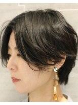レザボア ヘアーアンドビューティー ハイブ店(reservoir Hair&Beauty Haibe)【秋冬オーダーNo.1!!】☆大人クールなハンサムショート☆