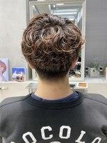 テトヘアー(teto hair)マッシュレイヤー パーマ マッシュパーマ