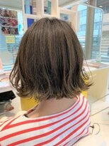 ヘアーアンドメイク ツィギー(Hair Make Twiggy)【twiggy篠崎】 ☆切りっぱなし外ハネボブ☆