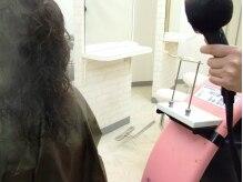美容室 トロの雰囲気(髪の毛全体に微粒子水分のスチームをあてぷるぷる&うるるの髪に)