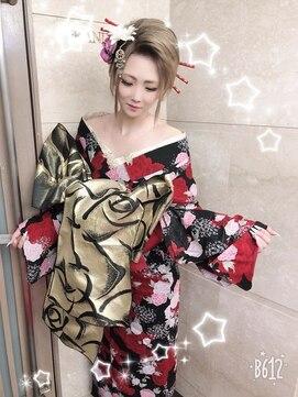 浴衣花魁 L016592792 ヘアーメイク ナユタ Hair Make Nayuta のヘア