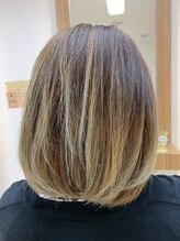 クラップス ヘアデザイン(CLapS hair design)グラデーションカラー