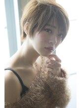 ミエルヘアービジュー(miel hair bijoux)【miel hair bijoux】ヌーディー感溢れる胸キュン☆ショート